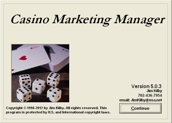 Marketing coordinator casino